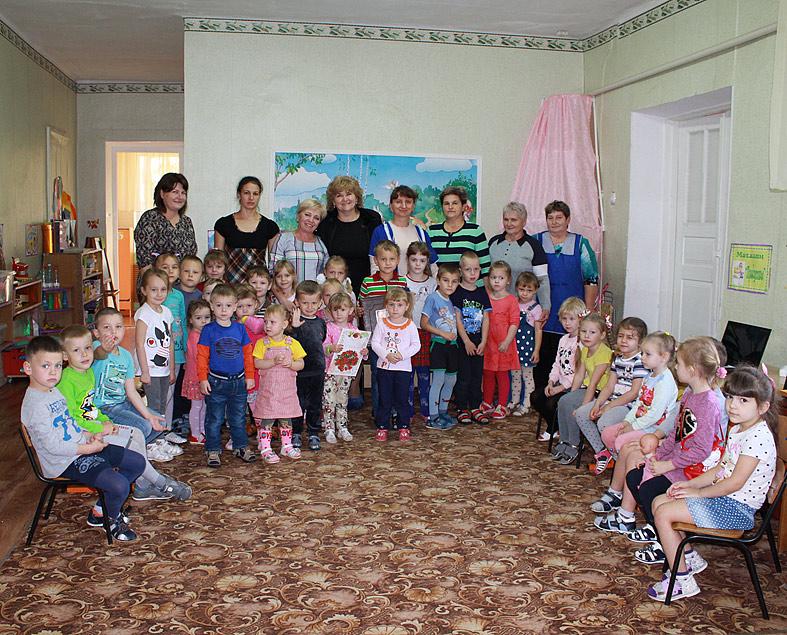 55 лет отметил детский сад №14 станицы Веселой