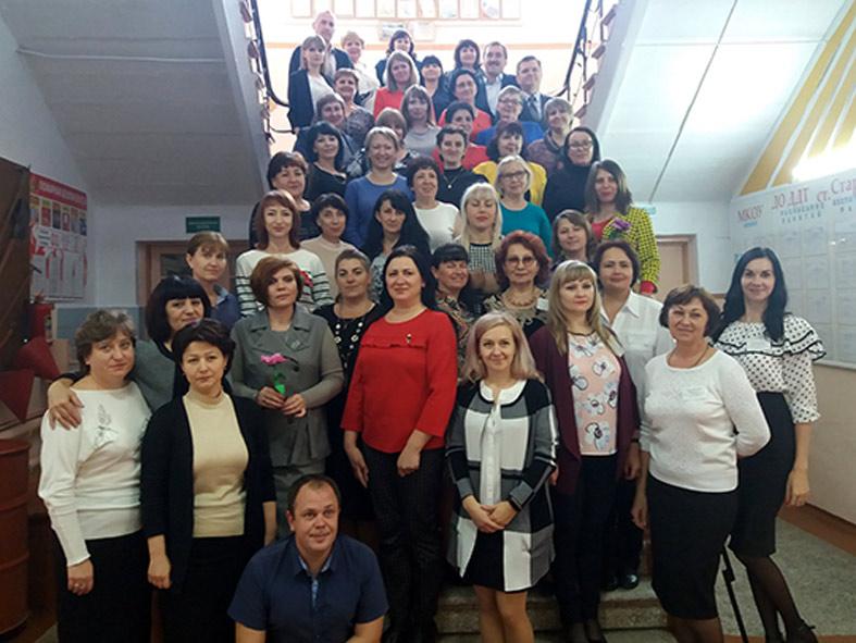 Семинар педагогов дополнительного образования в Старолеушковской