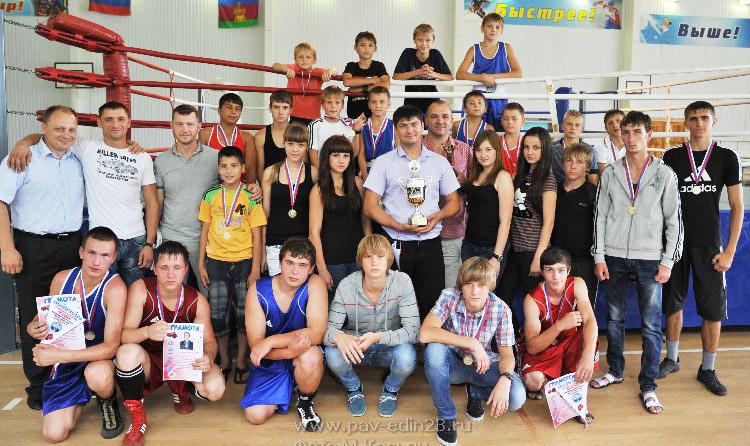 Команда Павлвоского района