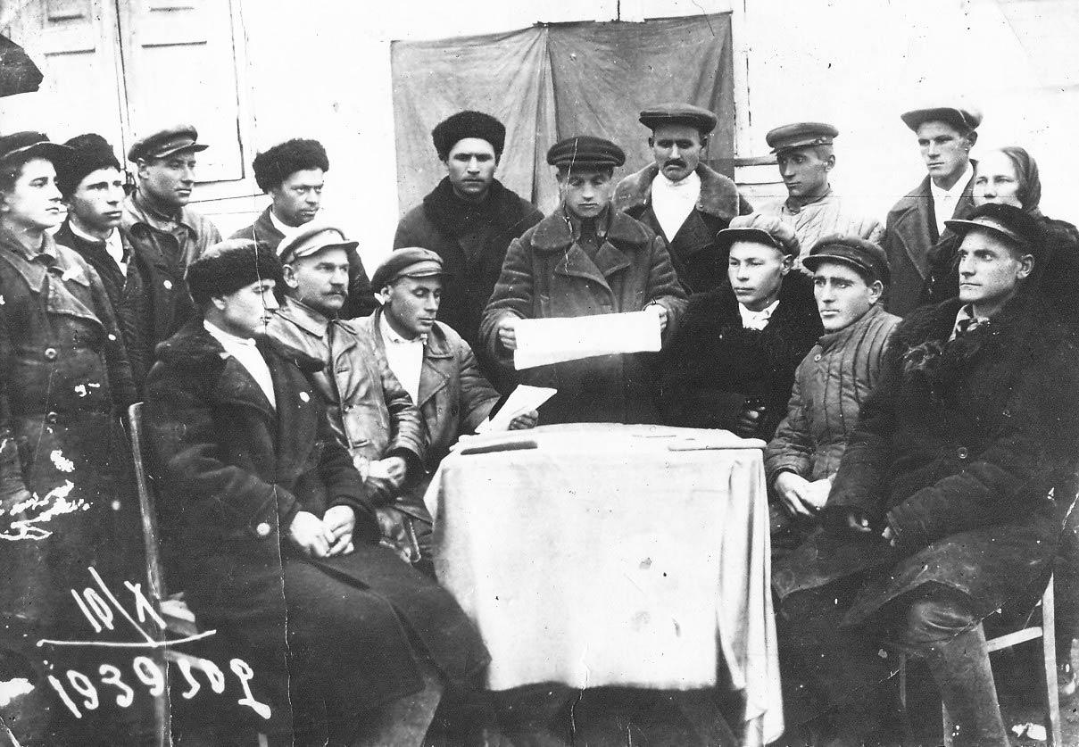 партсобрания 73-летней давности (10 октября 1939 года). Павловский район, Павловская