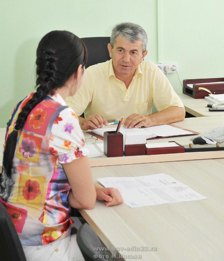 Прием избирателей важен для председателя Совета района М.М. Нурудинова.