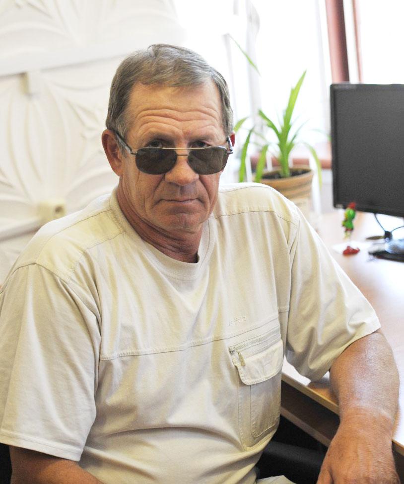 А.Н. Дербиба – председатель и идейный вдохновитель клуба рыбаков