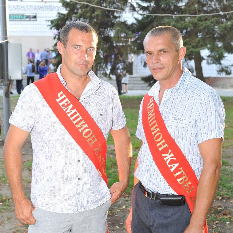 Андрей Головко и Андрей Самусько (на снимке слева направо)