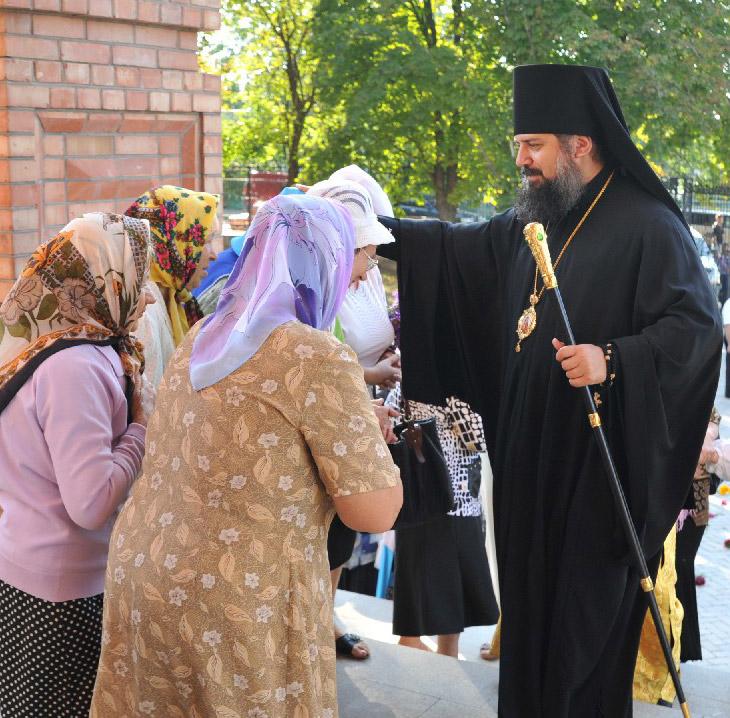Епископ посетил  Павловскую