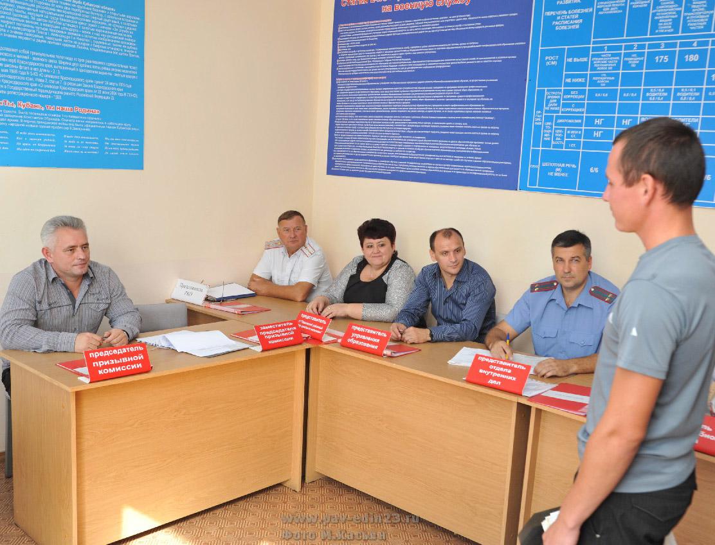 призывная комиссия - 2012