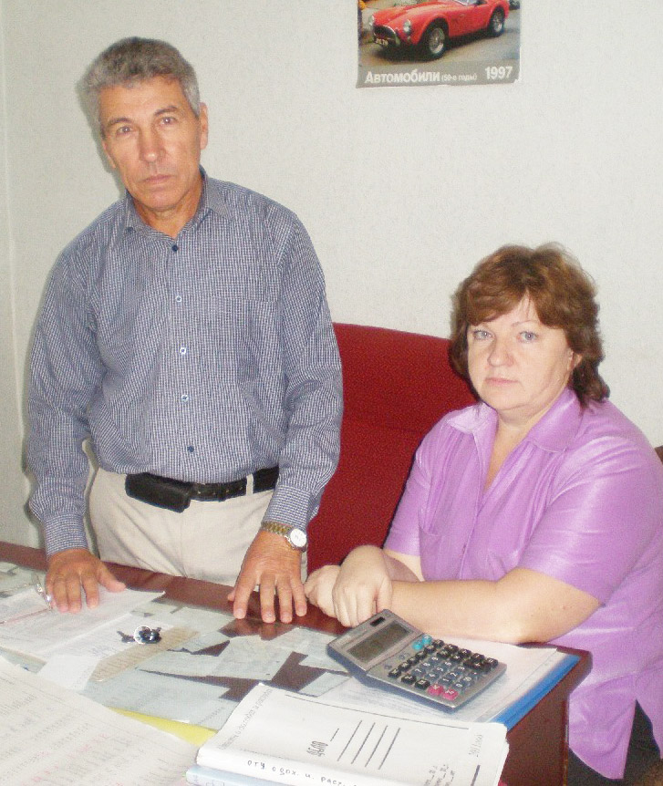 М.С. Моша и Н.В. Зиннатулина