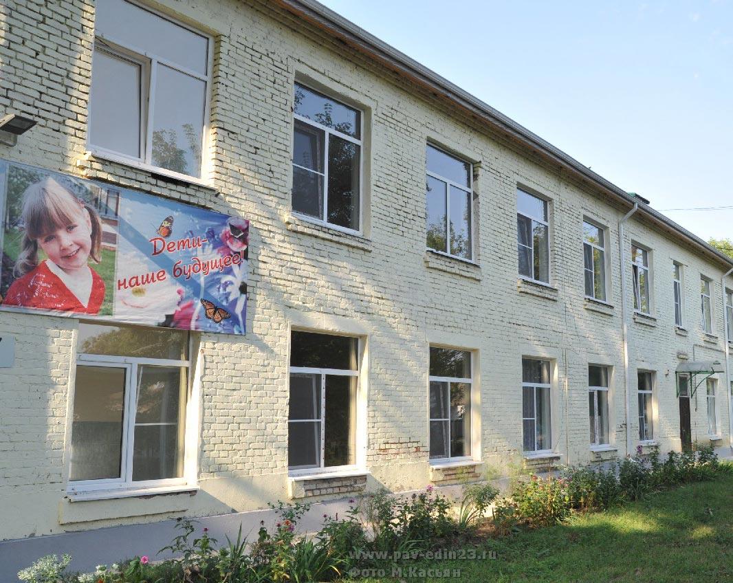 Детский сад в посёлке Октябрьском. Ремонт скоро будет закончен
