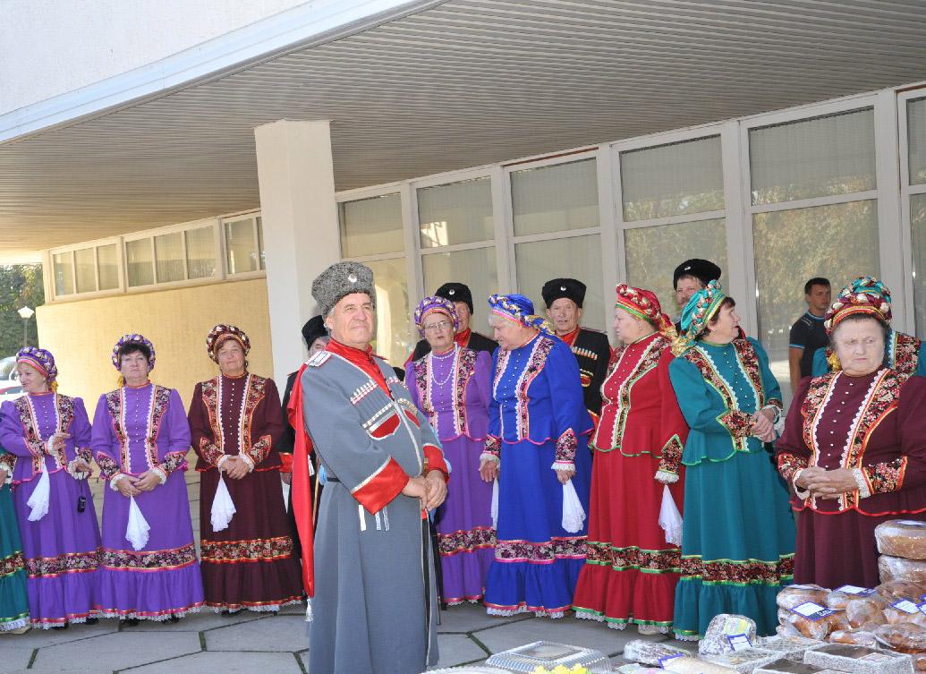 Народный хор кубанской песни при Дворце культуры