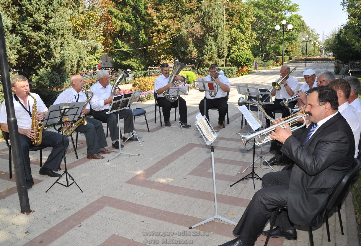 духовой оркестр станицы Павловской