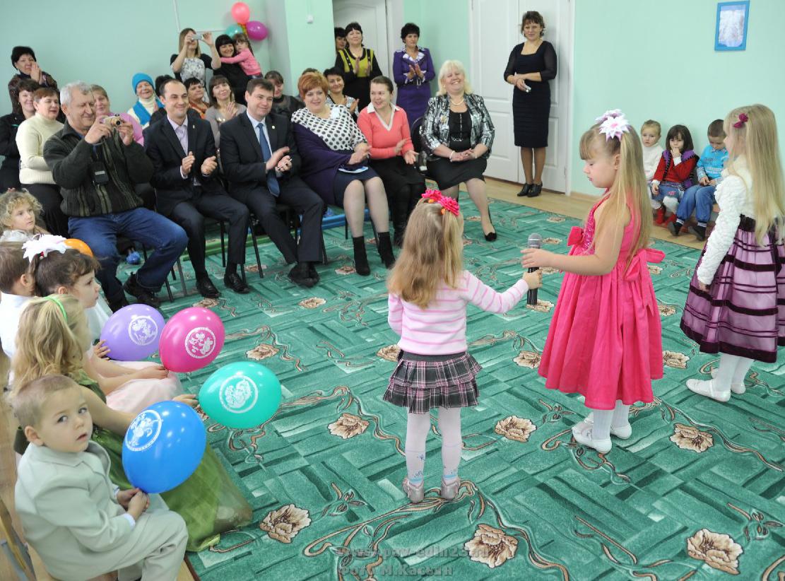Садик поселка Октябрьского реконструирован и торжественно открыт 19 декабря