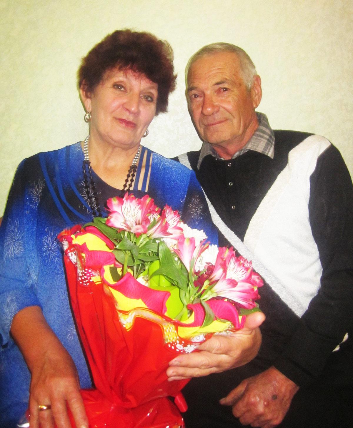 Ольга Николаевна и Александр Дмитриевич Гайворонские