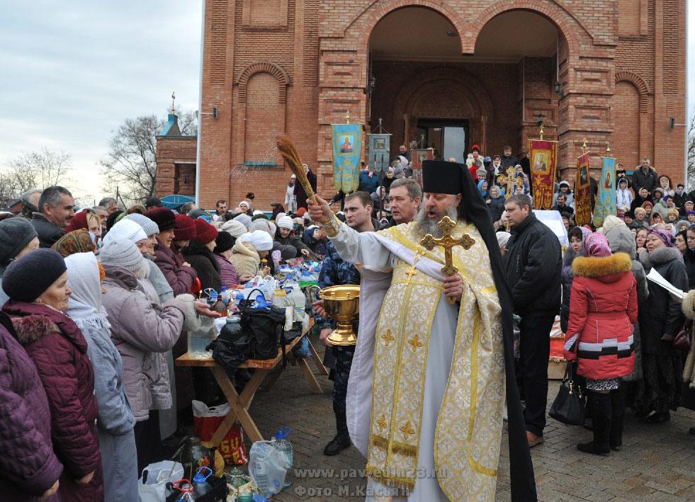 богослужение в Свято-Успенском храме