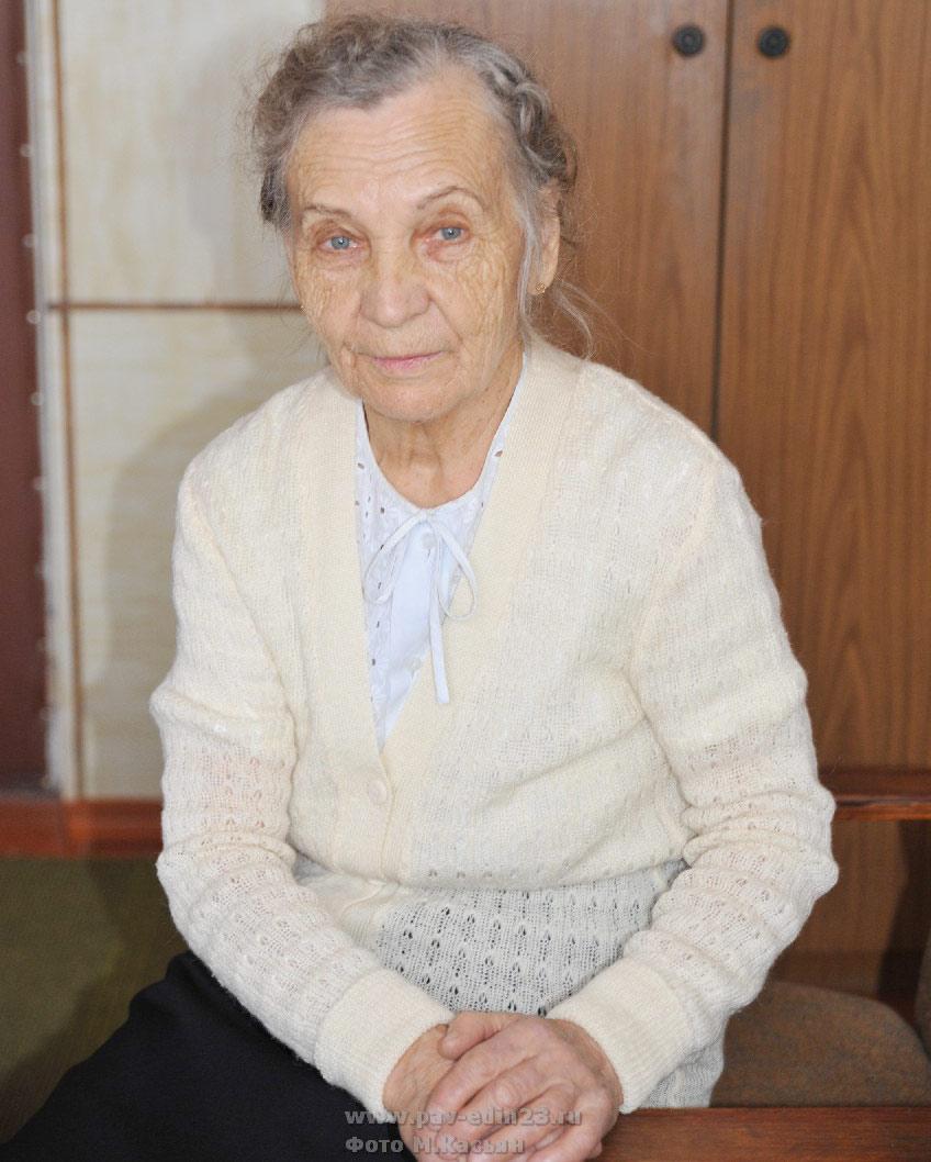 Мария Петровна ПАВЛОВА