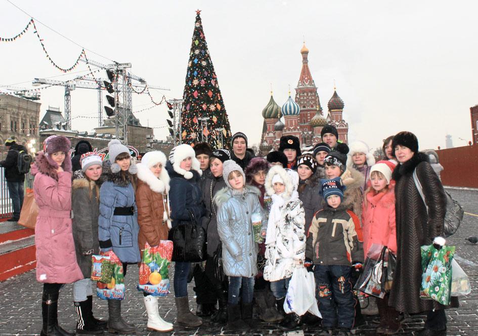 Атаманские казачата – в Москве