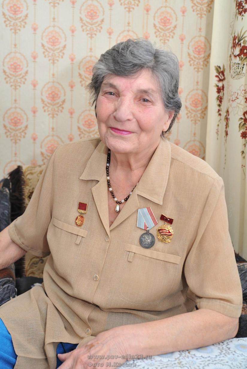 Анна Ивановна ЗАГОРУЛЬКО