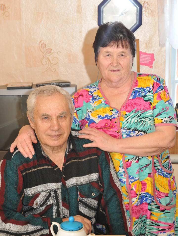 Супруги Кильдяковы.