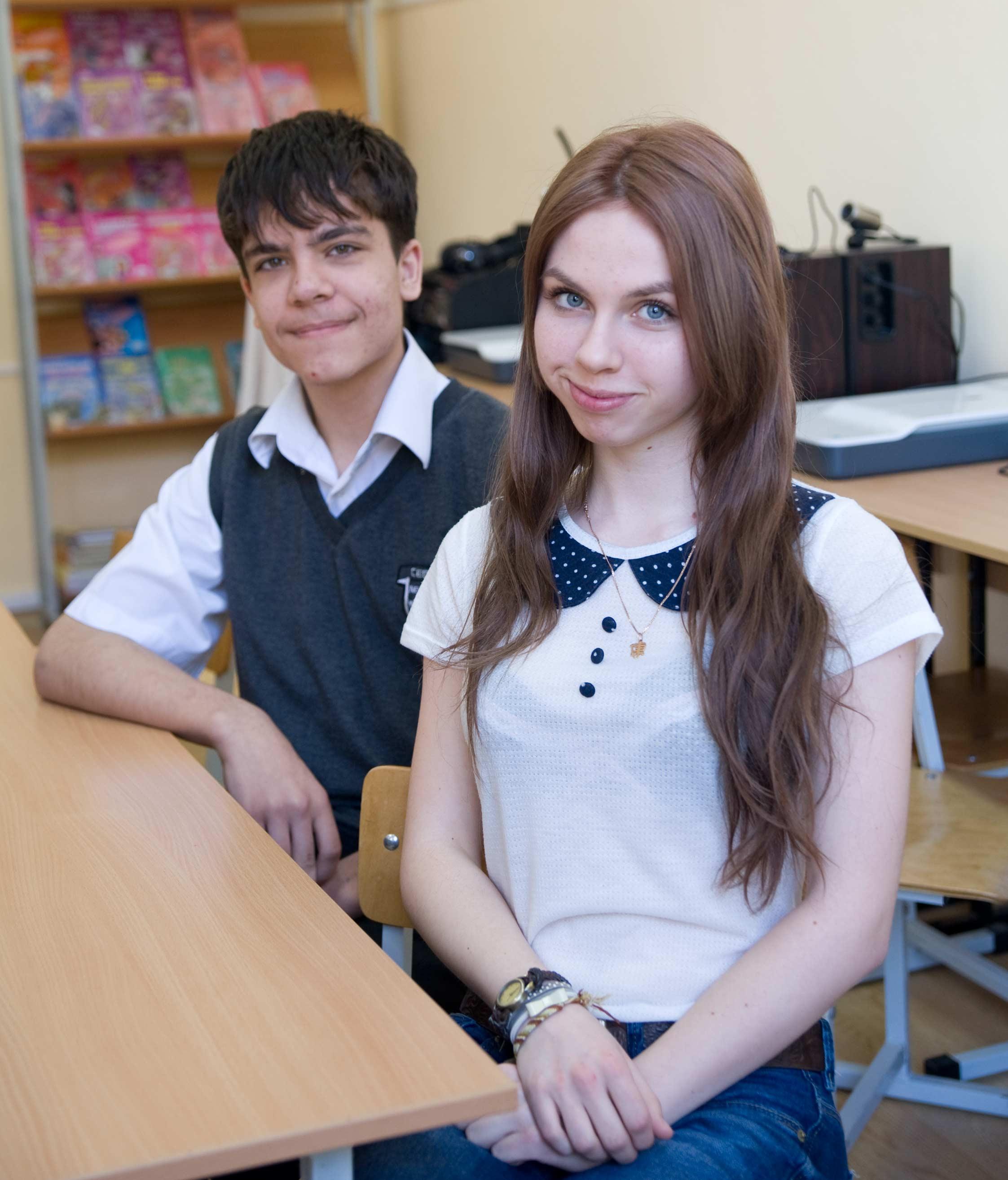 Андрей Стороженко и Элеонора Шмонденко