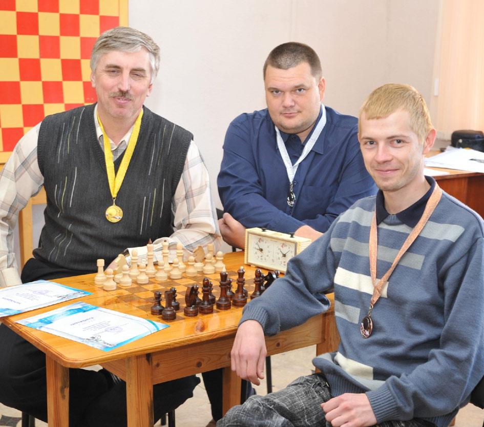 Слева направо: Б. Натальный, А. Гуков, Д. Кашкаха