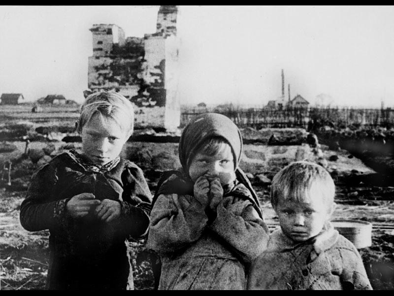 Дети войны. Как вам живется