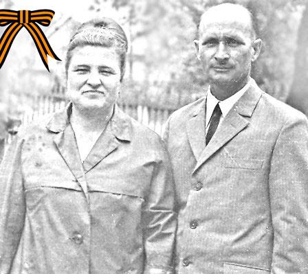 На снимке из семейного альбома супруги КОЛБАСЕНКО–Раиса Ивановна и Юрий Андреевич.