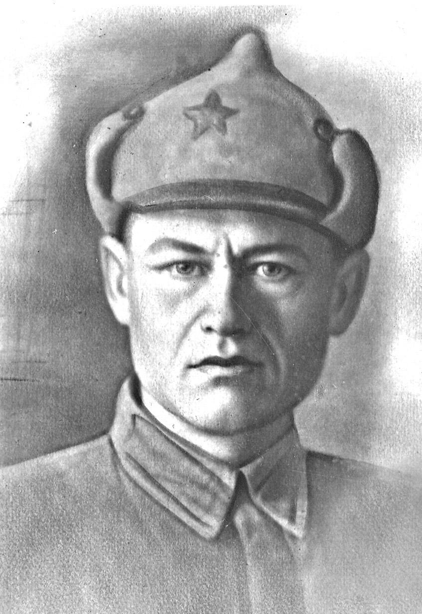 Таким он был– защитник Отечества Федор Емельянович БЕРЕСТОВ. Фото из семейного архива.