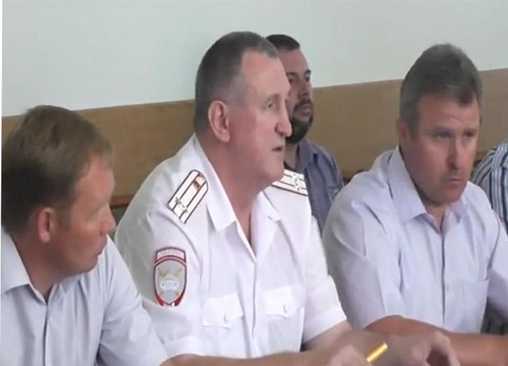 Состоялся круглый стол в администрации Павловского района о соблюдении ПДД