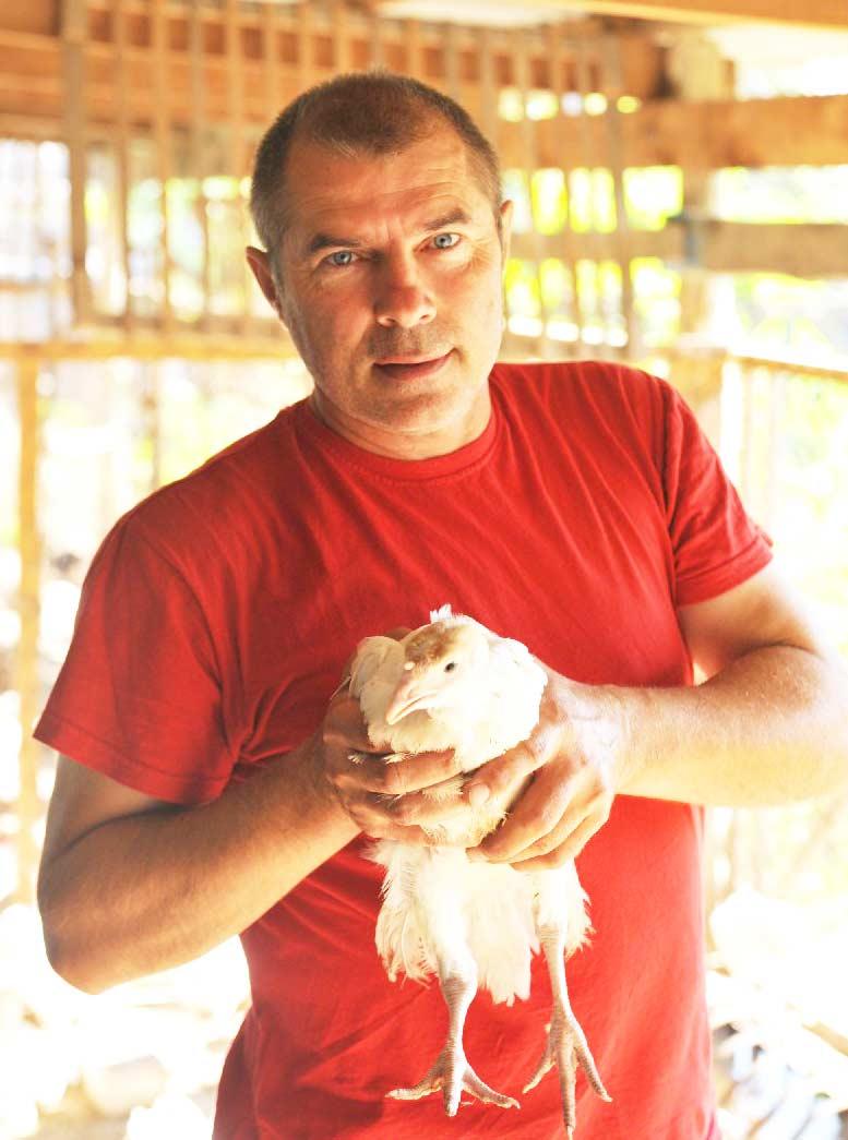Накормить Кубань индюшатиной мечтает павловчанин Валерий Домотенко