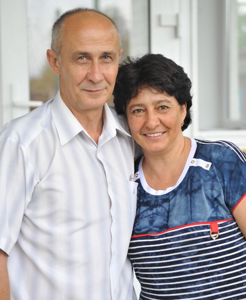 Супруги Шрамко