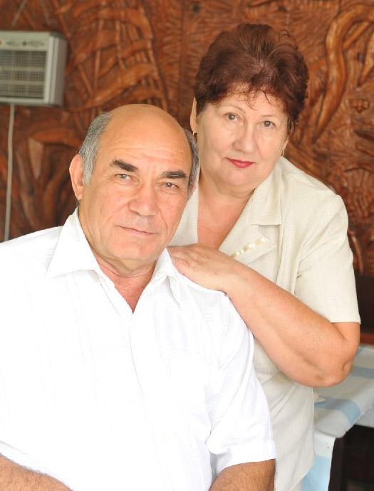 Супруги Семеренко
