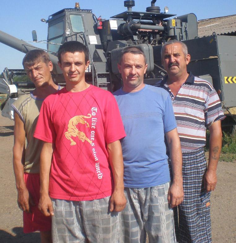 Слева направо: В.В. Джура, Н.Н. Чорик, А.Н. Чорик и   А.И. Толмачёв – лучшие люди ООО «Кубаньзернопродукт»