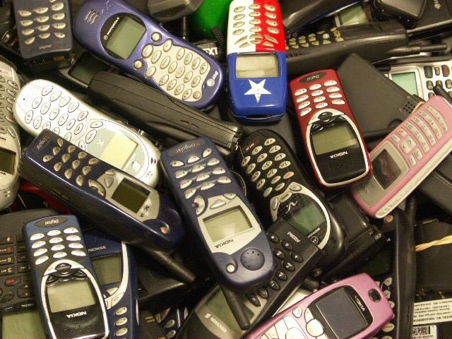 Пропали два мобильника