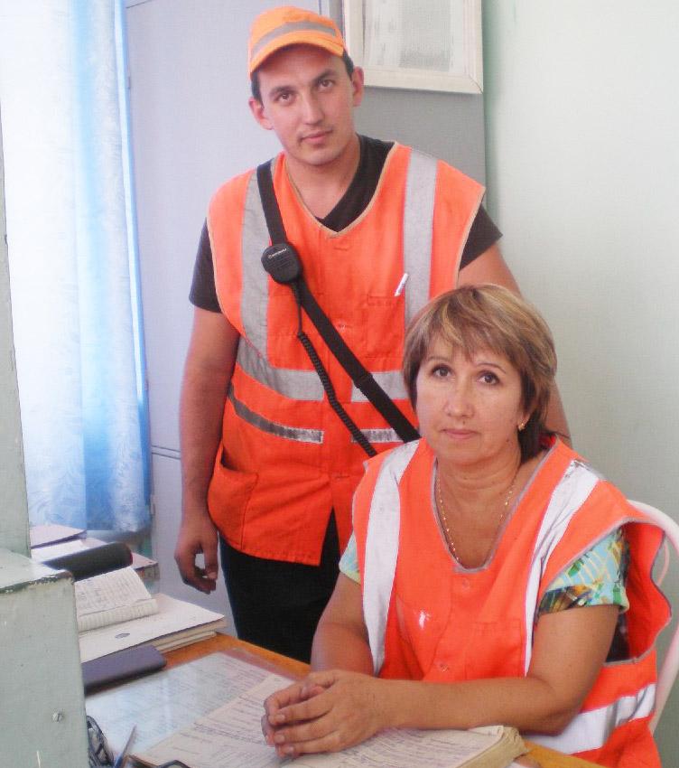 П. Свиридов и Е. Блохина