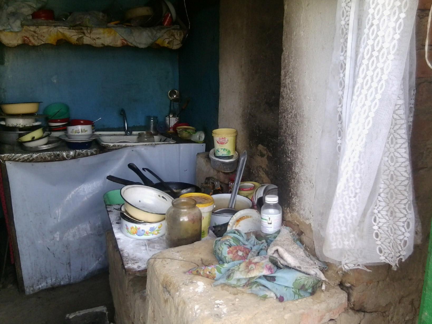 Это одно из помещений,  где готовят еду