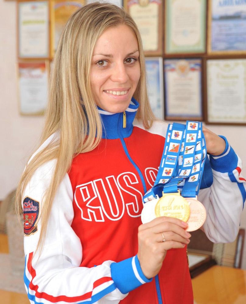 «Золотая» шиповка Марины Гришиной
