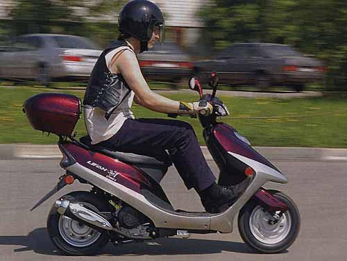 Cнова наказывали рублём родителей скутеристов.