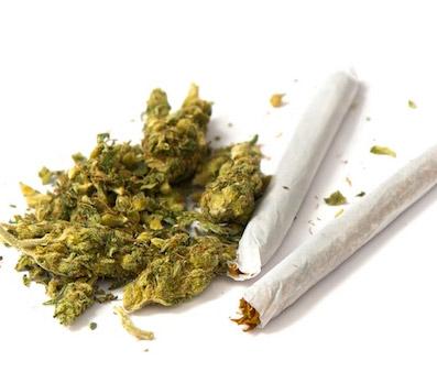 С марихуаной вкармане
