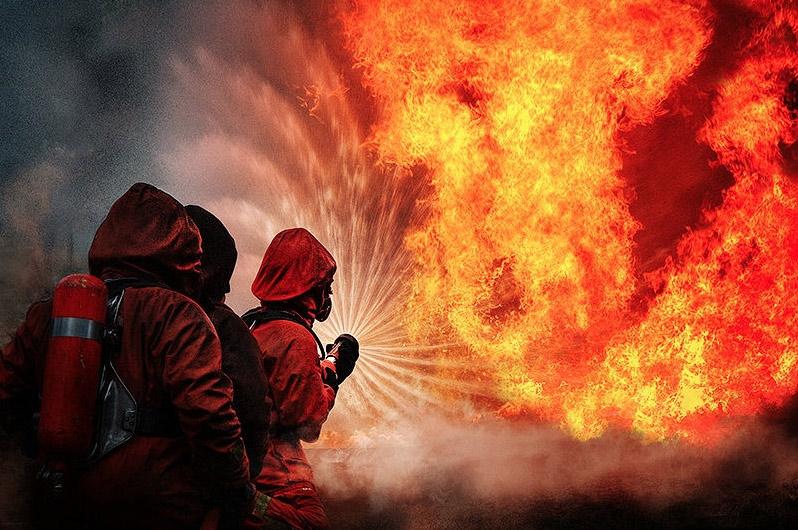 В пожаре погибла пенсионерка