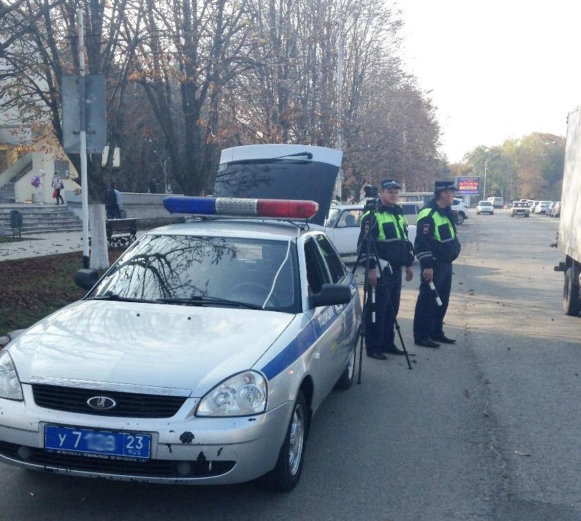 Во время дежурства на ул. Горького ст. Павловскойй