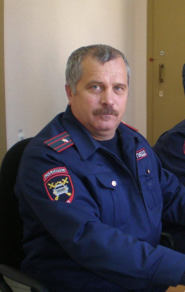 Старший инспектор дежурной части роты ДПС Н.Н. Бычек