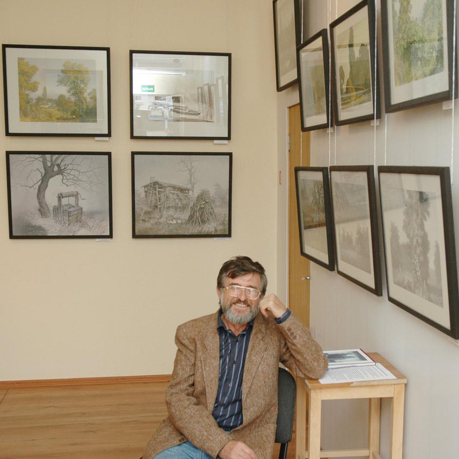 От выставки к выставке Федор Алексеенко