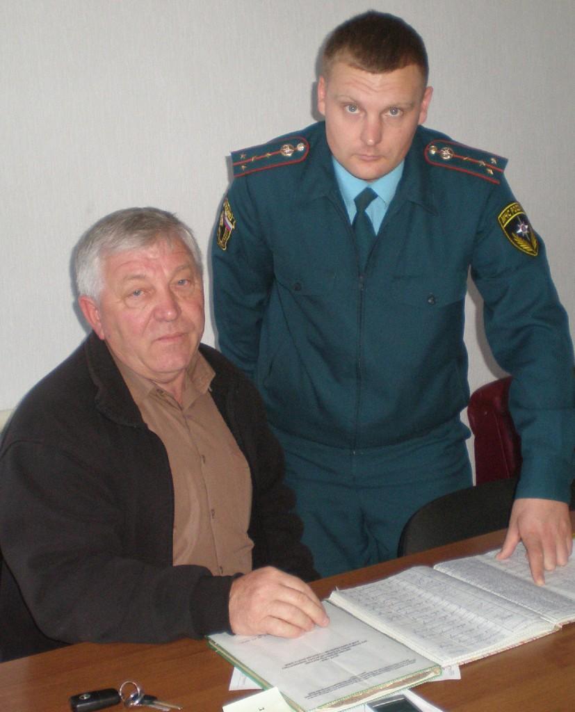 И.В. Сычев и А.А. Семенищев