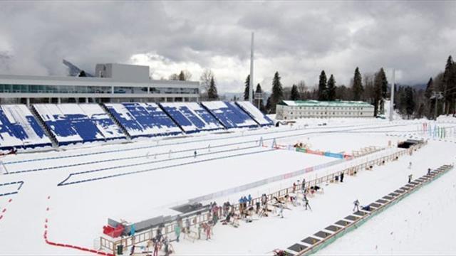 – Комплекс «Лаура» для соревнований по лыжным гонкам и биатлону – 15000 зрителей;
