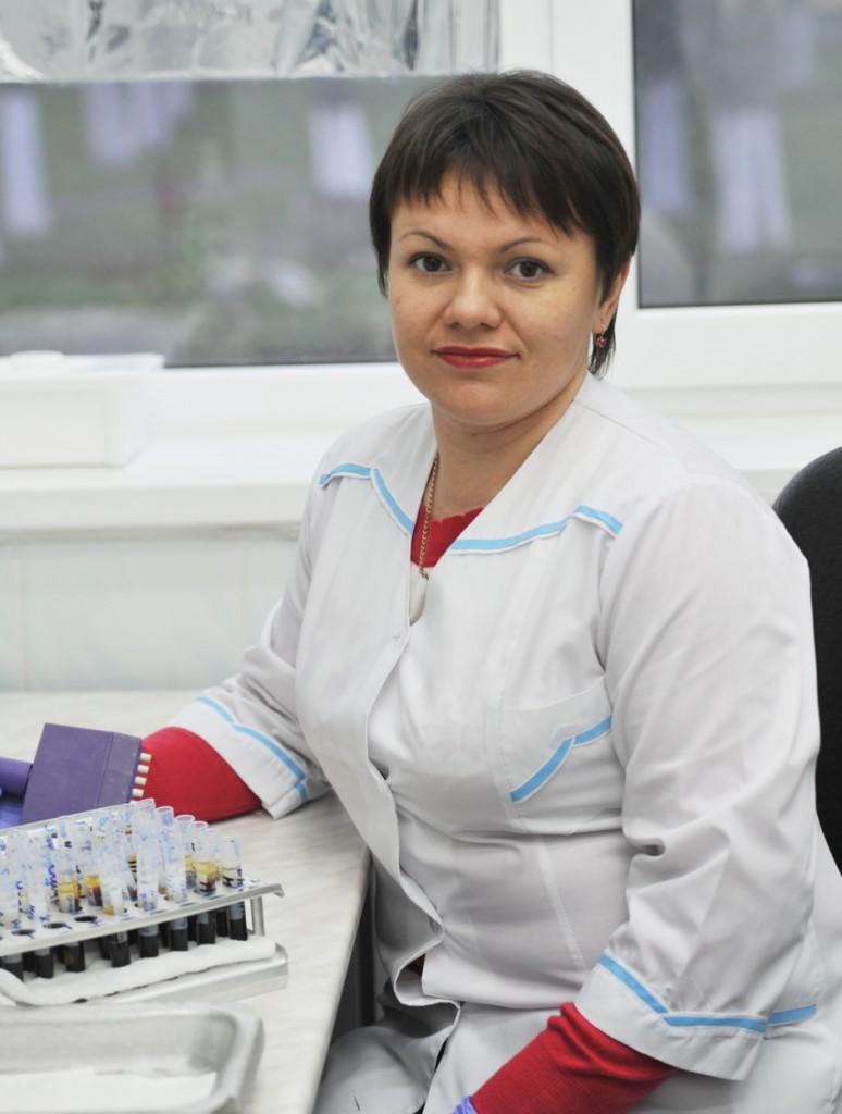 Марина Николаевна Слюсарь повысила свою квалификацию