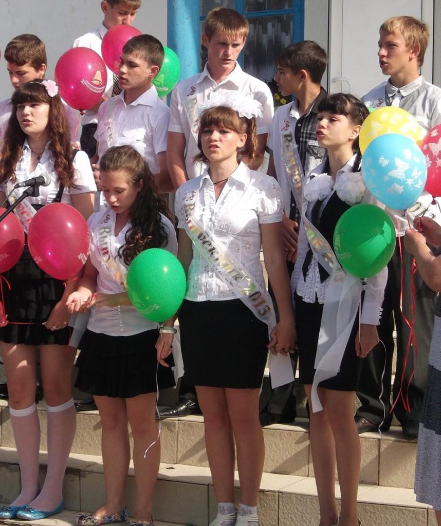В 2013 году окончили девятый класс ОШ № 18 хутора Упорного 13 учащихся. Все они поступили в разные учебные заведения.