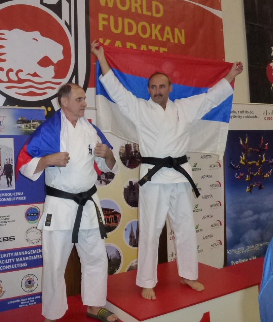 Василий Савранский (справа)