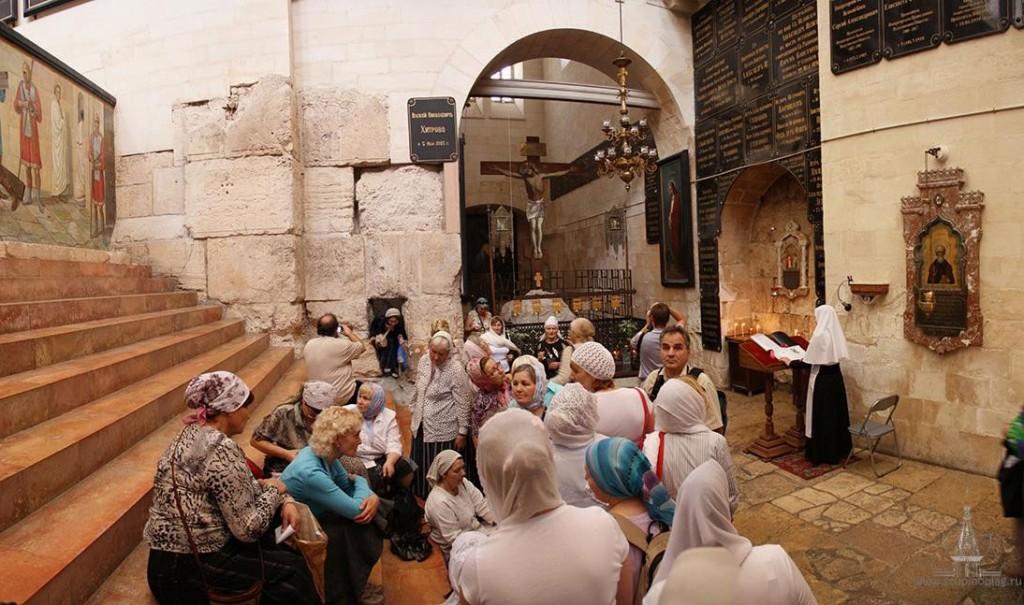 Александровское подворье в Старом городе (Иерусалим). Судные врата.