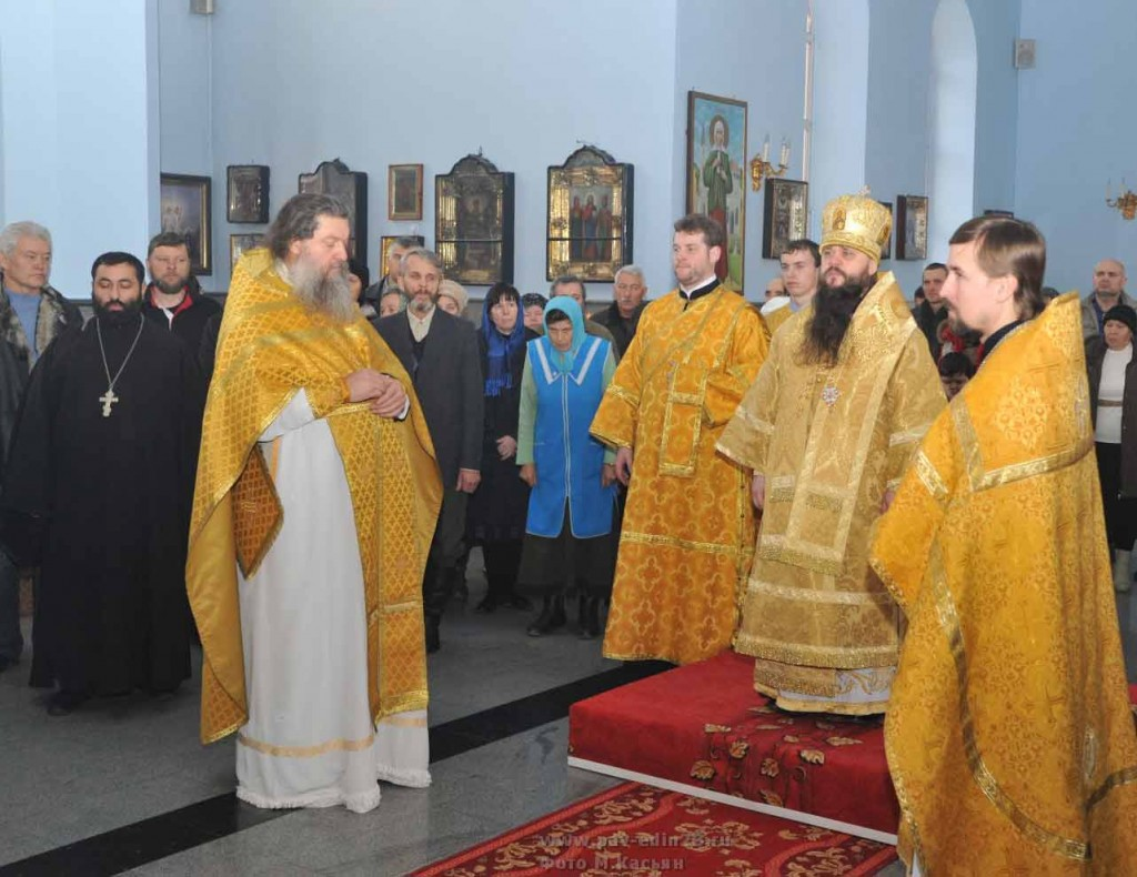 Владыка Варлаам посетил Павловскую