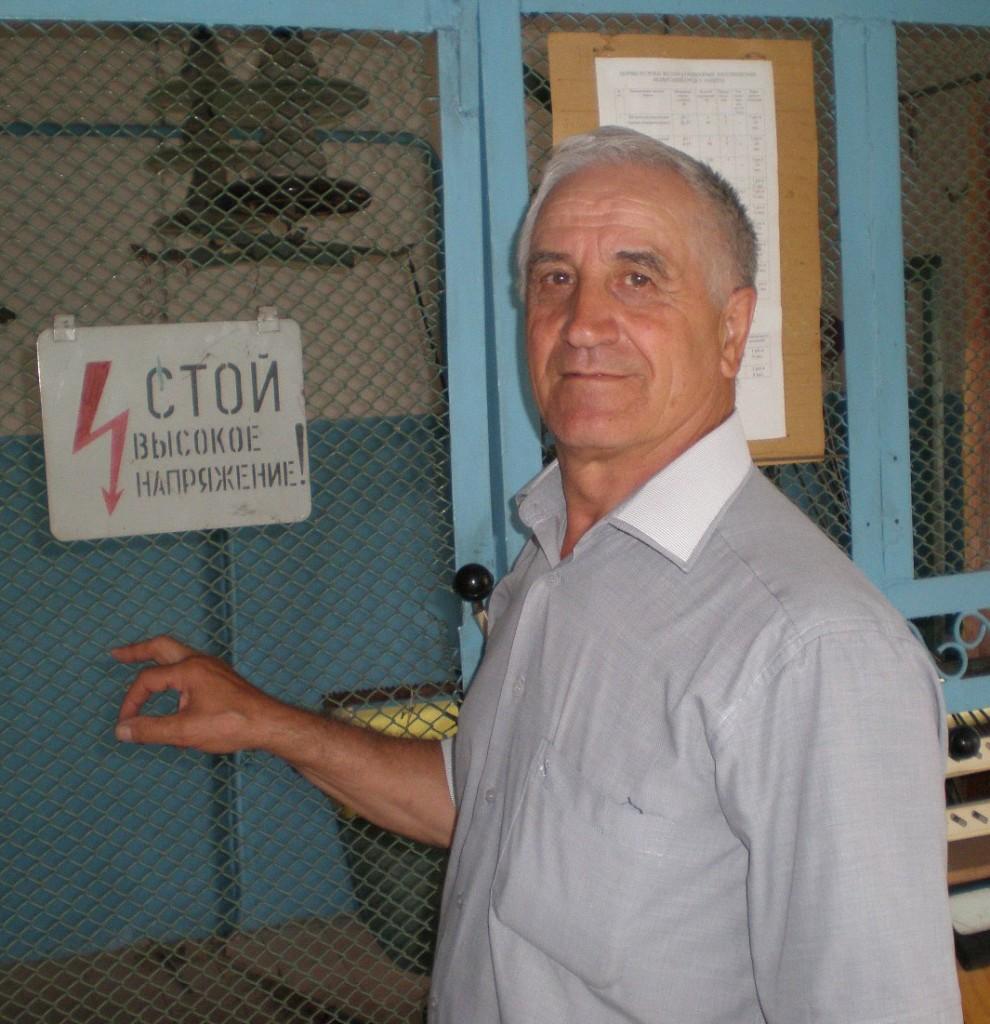 Начальник наладочно-ремонтного участка ЗАО «Павловскагропромэнерго» Г.Л. Лихо