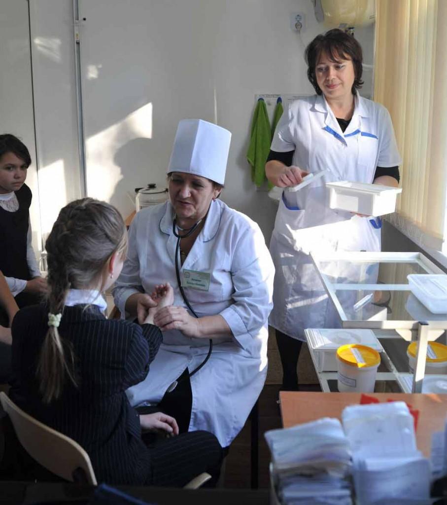 По итогам краевого конкурса, который провело министерство образования и науки региона, медицинский кабинет Старолеушковской школы-интерната признан лучшим.