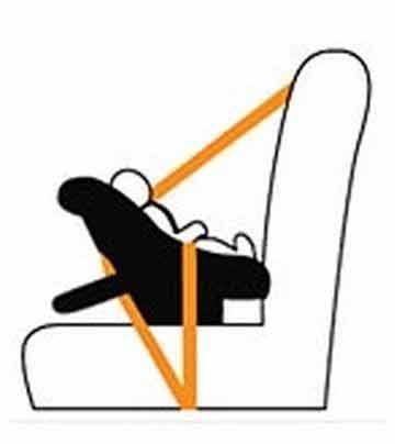 Спасло детское кресло